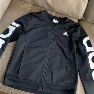 Adidas girls track jacket